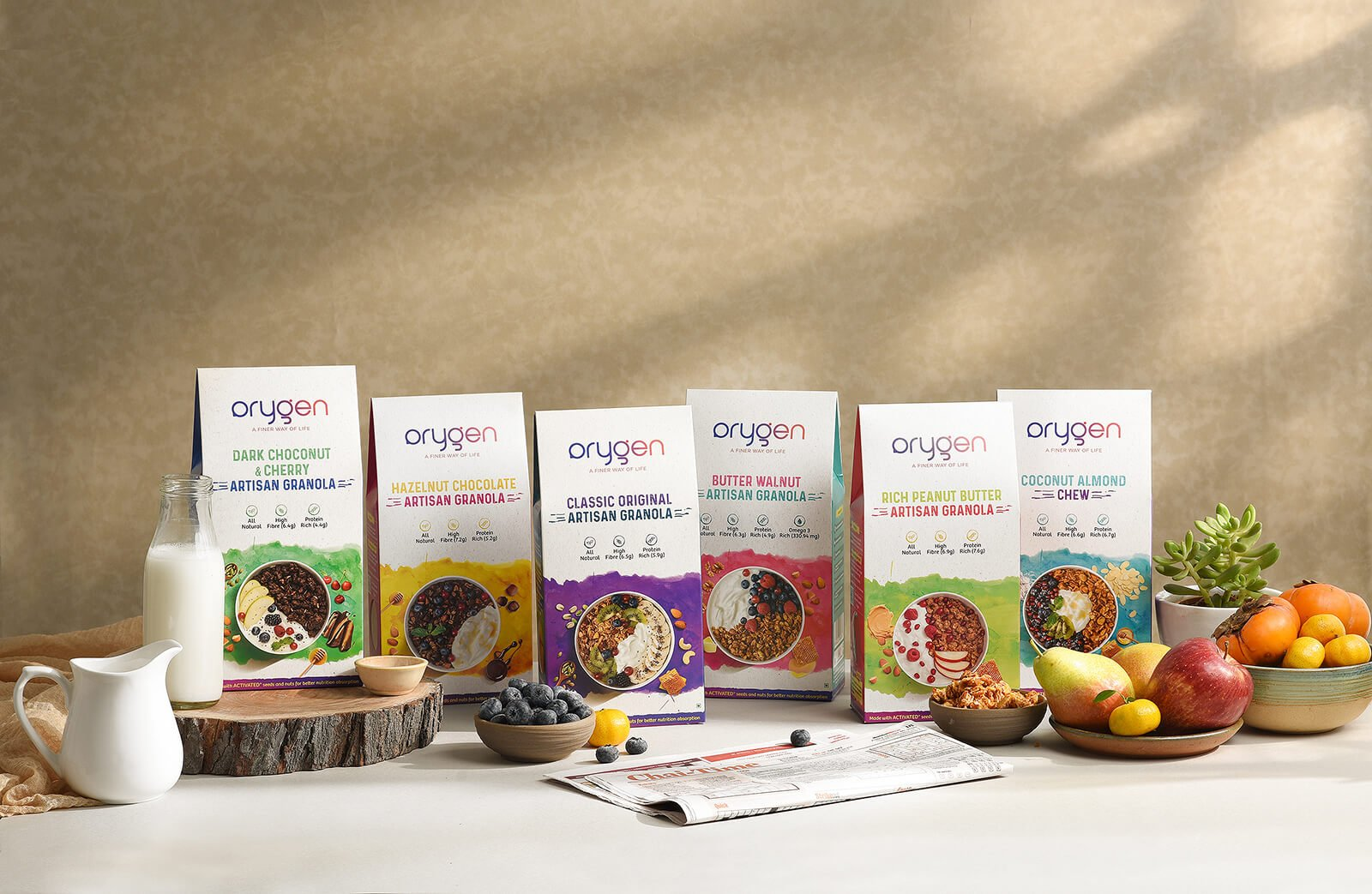 Orygen Product Photography